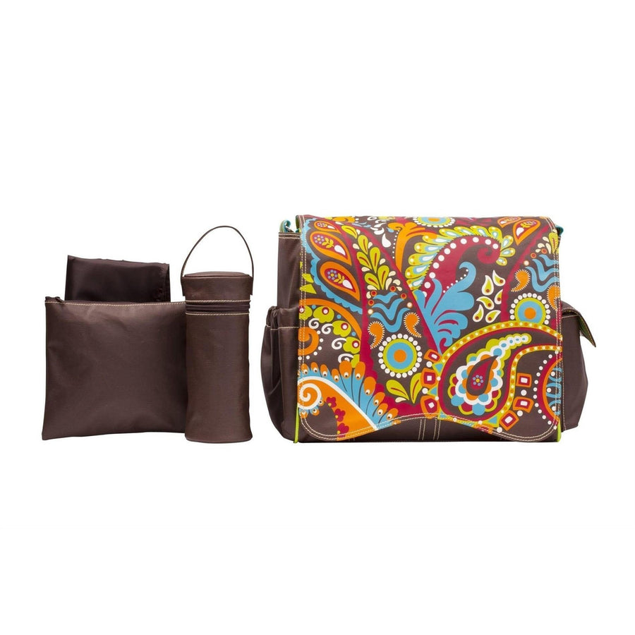 Jungle Paisley Kalencom Jazz Collection Diaper Bag | Style 8800 - Kalencom-Diaper Bags-Default-Jack and Jill Boutique