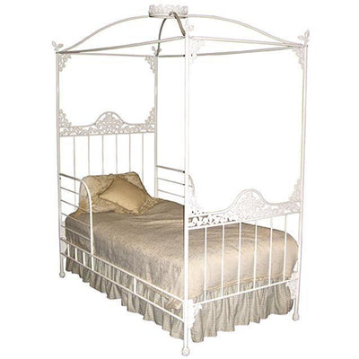 Kids Garden Double Canopy Bed W/ Guard Rails-Kids Bed-Default-Jack and Jill Boutique