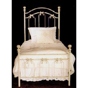Kids Standard Bed W/ Bows-Brass Bed-Jack and Jill Boutique