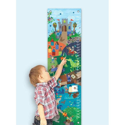 Knights and Dragons Growth Charts-Growth Charts-Default-Jack and Jill Boutique