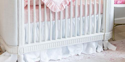 MacKenlee Faire Blush Crib Bedding Set
