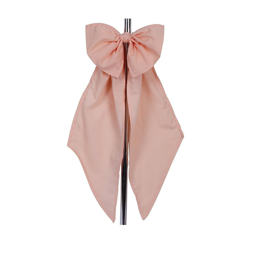 Bows-Baby Pink-Jack and Jill Boutique-Large Bows in Cotton - For Curtain Ties, Crib Decor and More