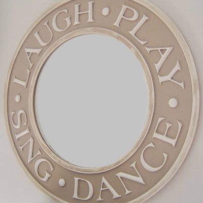 Laugh-Play-Sing-Dance Children's Mirror-Mirror-Jack and Jill Boutique