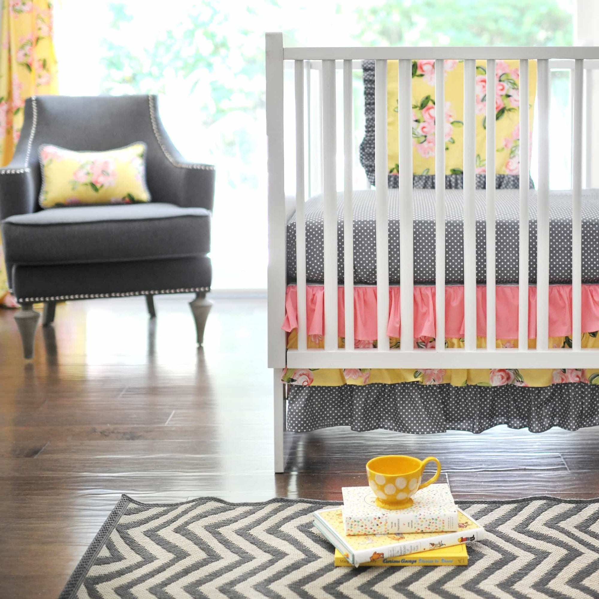 Lemon Drop Baby Bedding Set-Crib Bedding Set-Jack and Jill Boutique