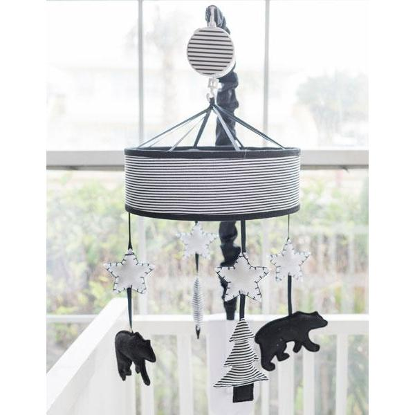 Crib Mobile | Little Black Bear Crib Bedding Set-Crib Mobiles-Default-Jack and Jill Boutique