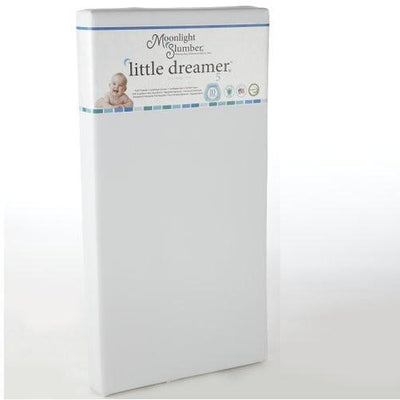 "Little Dreamer 5"" Crib, 6.5"" Twin and Full Mattresses (All Foam and Innerspring)-Crib Mattress-Jack and Jill Boutique"