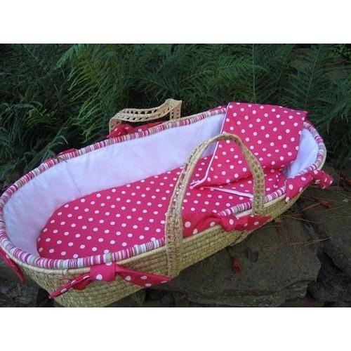 Lola Moses Basket-Moses Basket-Default-Jack and Jill Boutique