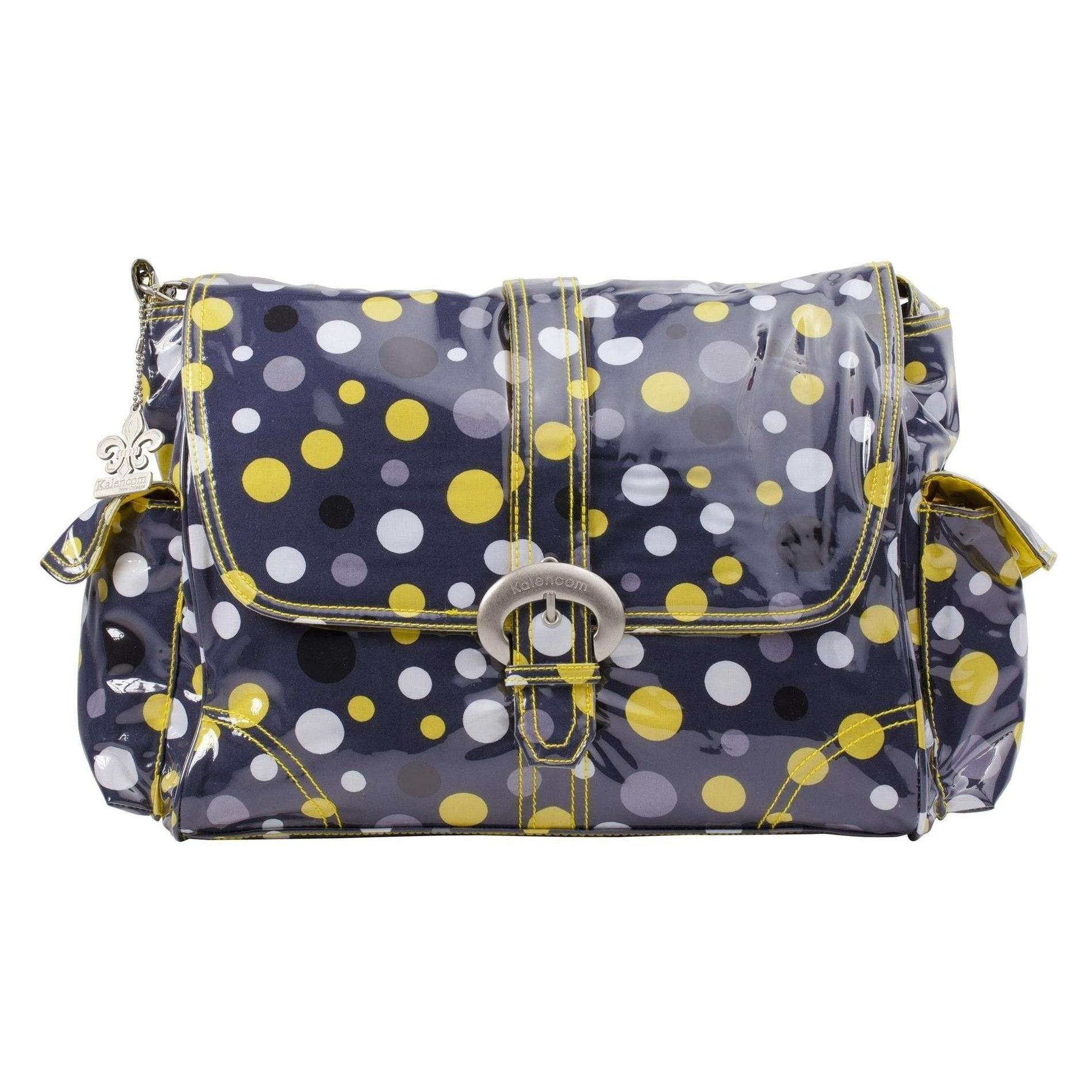 Lollidots Laminated Buckle Diaper Bag | Style 2960 - Kalencom-Diaper Bags-Jack and Jill Boutique