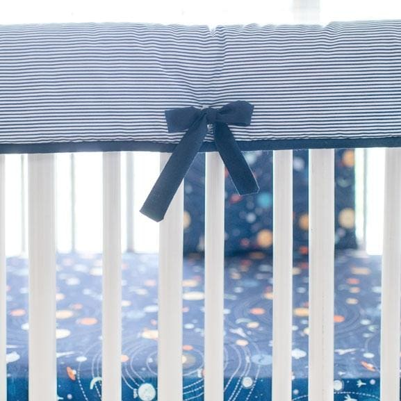 Rail Cover | Ahoy Matey Crib Baby Bedding Set-Crib Rail Cover-Jack and Jill Boutique