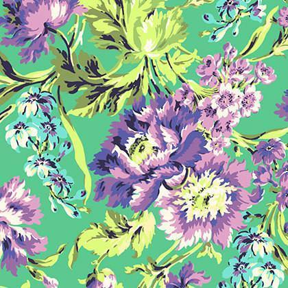Love Bliss Purple Floral Fabric By The Yard | 100% Cotton-Fabric-Jack and Jill Boutique