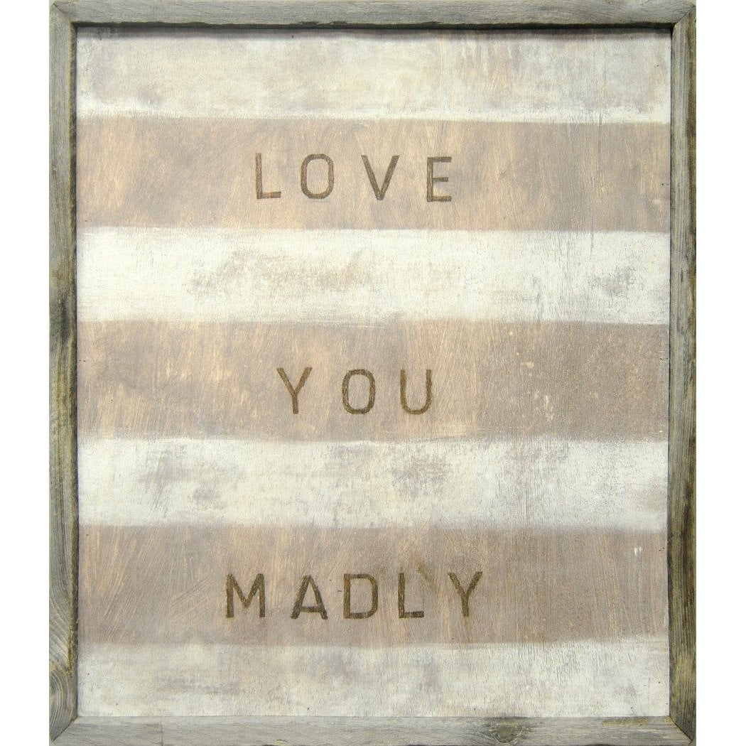 ART PRINT - Love You Madly-Art Print-Default-Jack and Jill Boutique