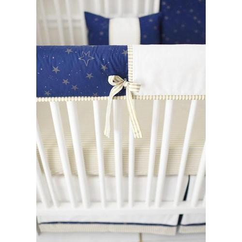 Lucky Stars in Navy Crib Baby Bedding Set-Crib Bedding Set-Default-Jack and Jill Boutique