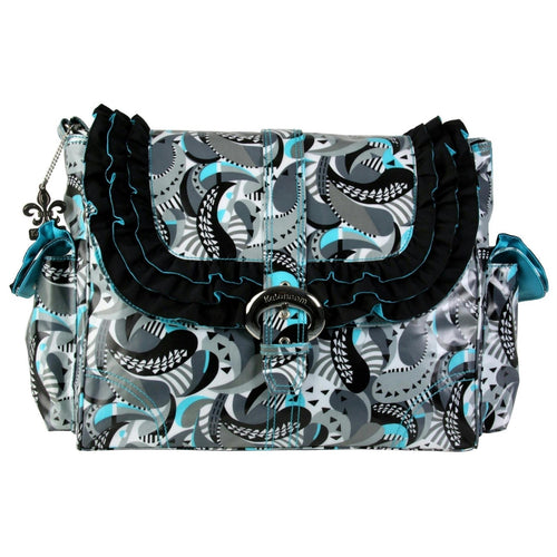 Mardi Gras Paisley Miss Prissy Diaper Bag | Style 2960 - Kalencom-Diaper Bags-Jack and Jill Boutique