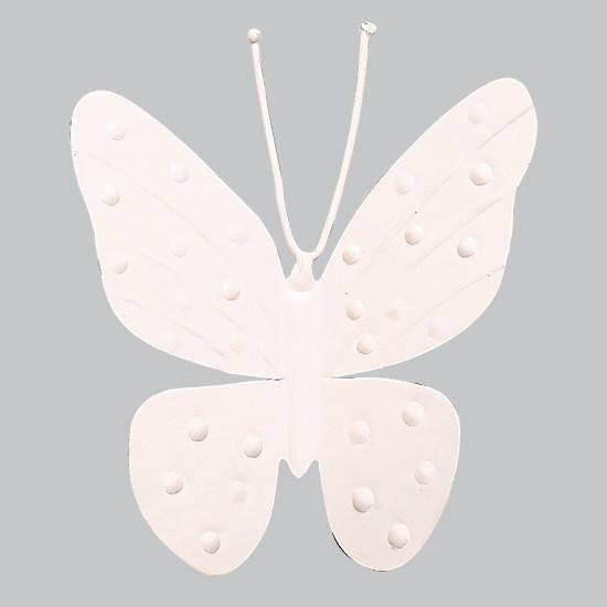 "Metal Butterfly Magnet - 4"" - Light Pink - Set of 3-Magnets and Magnet Boards-Default-Jack and Jill Boutique"