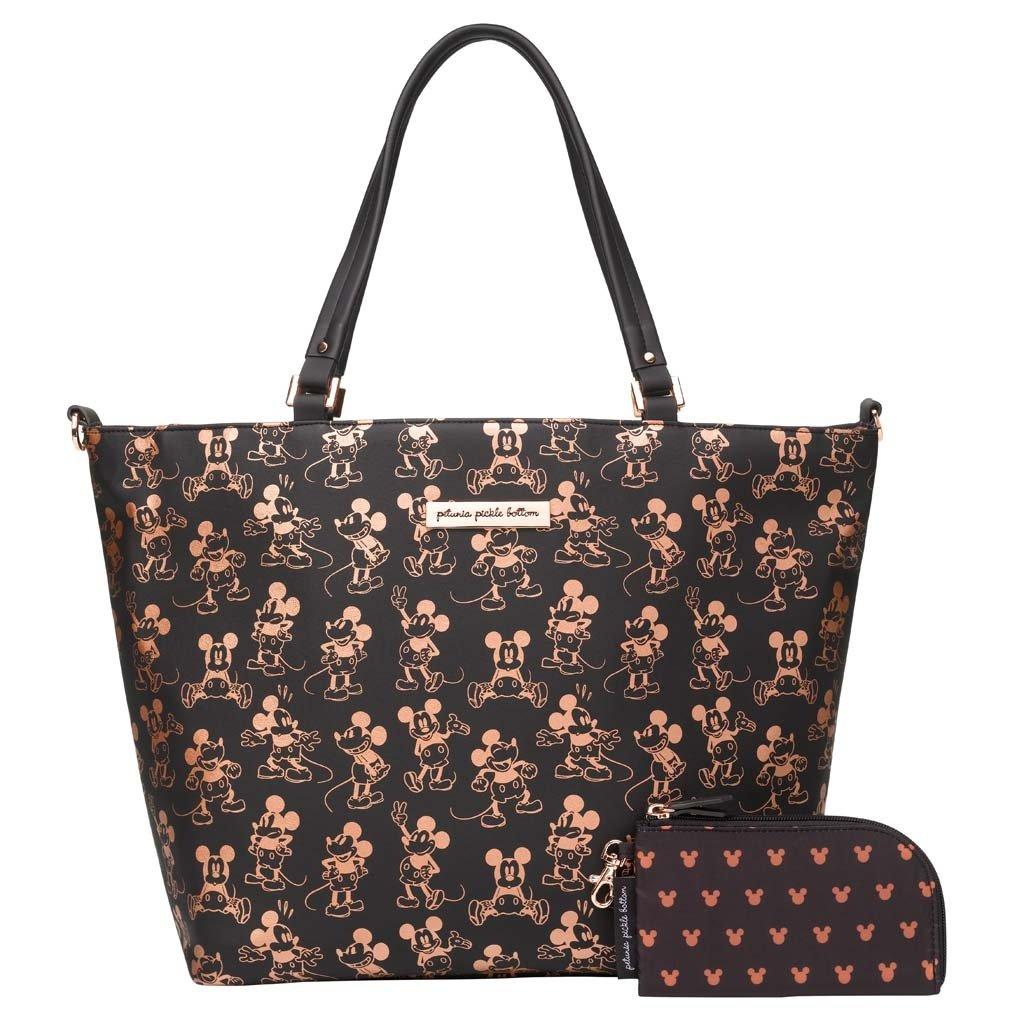 Downtown Tote in Metallic Mickey Mouse-Disney Magic-Jack and Jill Boutique