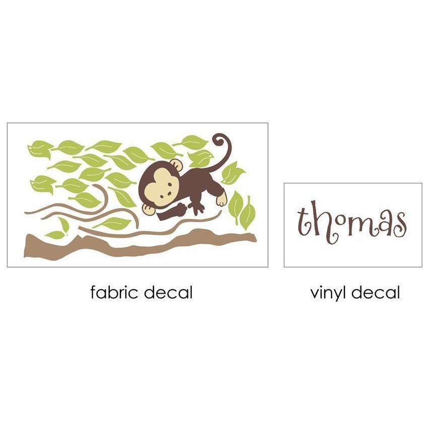 Monkey Branch Fabric Decal-Decals-One Size-Jack and Jill Boutique