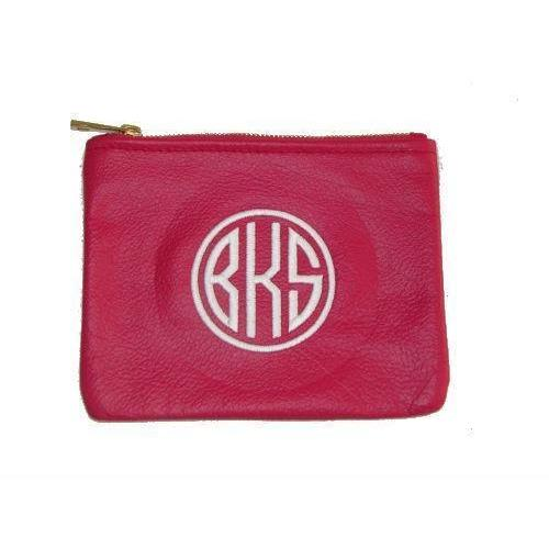Monogrammed Personalized Pouch-Bag-Default-Jack and Jill Boutique