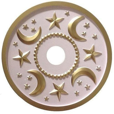 Moon and Stars Ceiling Medallions-Medallions-Jack and Jill Boutique
