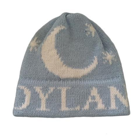 Moon   Stars Personalized Knit Hat-Hats-Jack and Jill Boutique 3c25feb4fe1