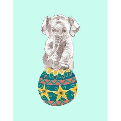 Morris On His Ball | Canvas Wall Art-Canvas Wall Art-Jack and Jill Boutique