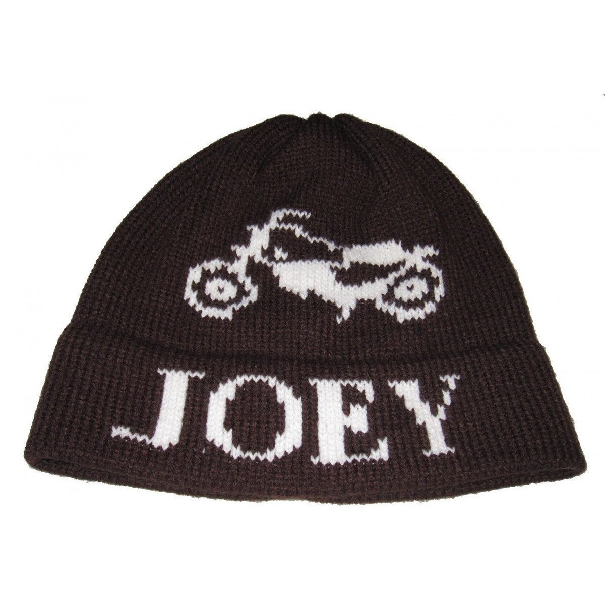 4532cf71a35 Motorcycle Personalized Knit Flap Hat - Jack and Jill Boutique