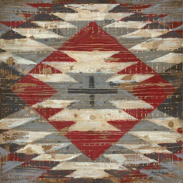 Native Weave American Southwest Art Collection Canvas