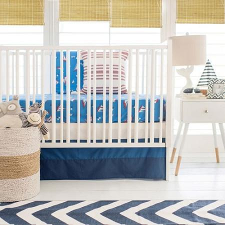 Nautical Harbor Baby Bedding Set-Crib Bedding Set-Default-Jack and Jill Boutique
