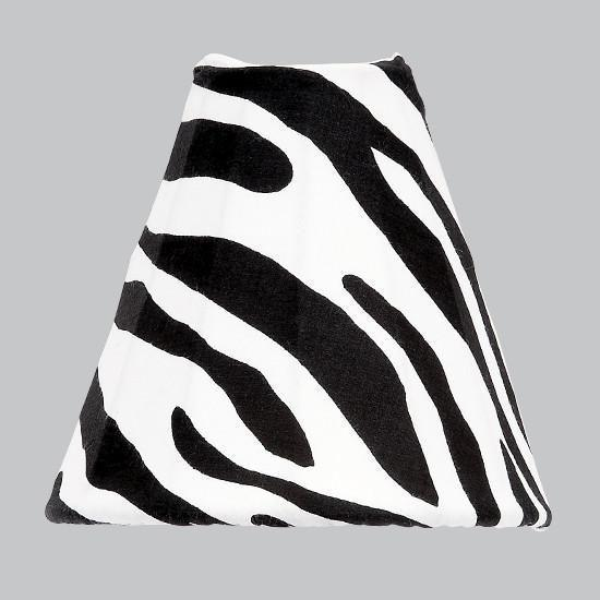 Nightlight - Bell Shaped - Zebra Print