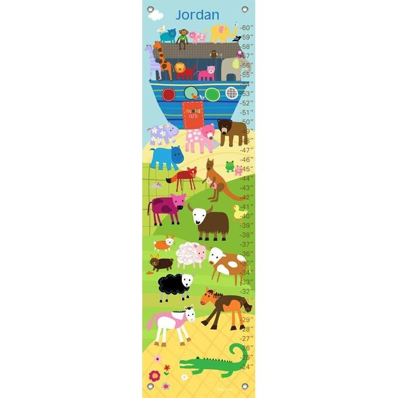 Noah's Ark and Animals Growth Charts-Growth Charts-Default-Jack and Jill Boutique