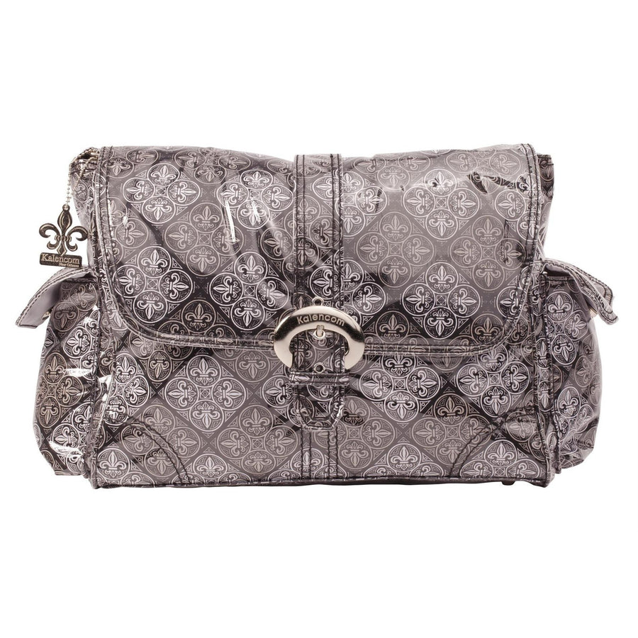 Nola Laminated Buckle Diaper Bag | Style 2960 - Kalencom-Diaper Bags-Default-Jack and Jill Boutique