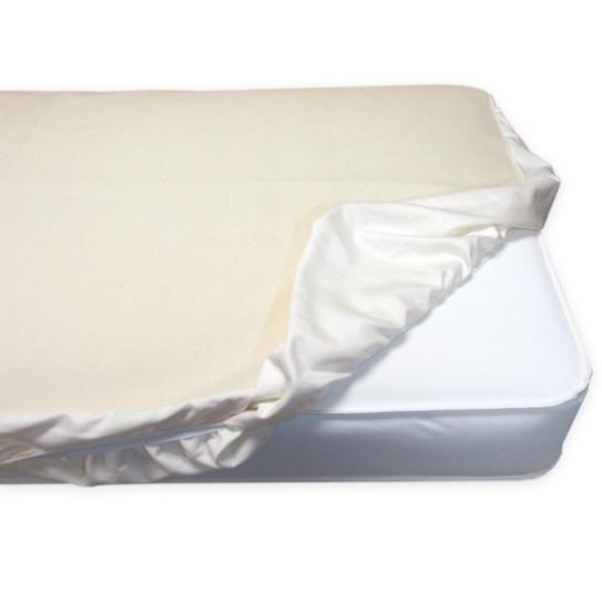 Non-Waterproof Crib Fitted Protector Pad (28 x 52)