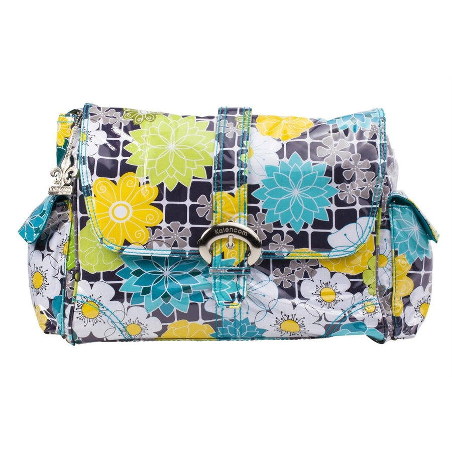 O' Floral Laminated Buckle Diaper Bag | Style 2960 - Kalencom-Diaper Bags-Default-Jack and Jill Boutique