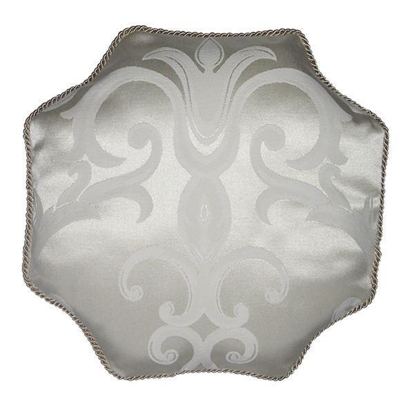 Octagon Pillow | Arabesque Luxury Baby Bedding Set-Pillow-Bebe Chic-Jack and Jill Boutique