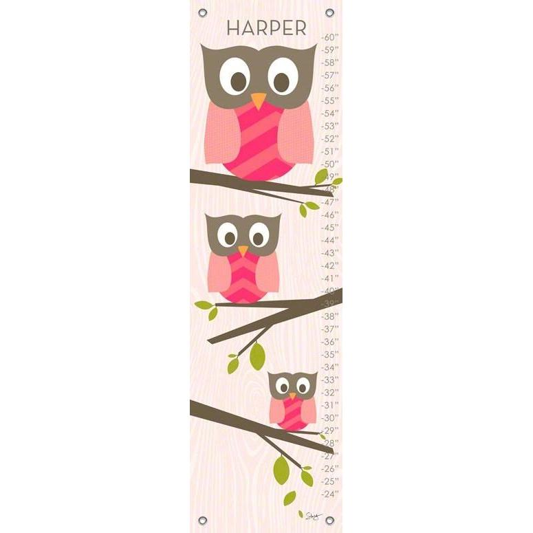 Olivia The Owl Growth Charts Jack And Jill Boutique