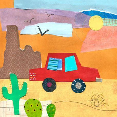 On the Road- Desert | Canvas Wall Art-Canvas Wall Art-Jack and Jill Boutique