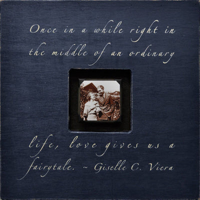 "Handmade Wood Photobox with quote ""Once in a While""-Photoboxes-Default-Jack and Jill Boutique"