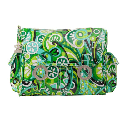 Ooh La La Kelly Coated Double Buckle Diaper Bag | Style 2961 - Kalencom-Diaper Bags-Default-Jack and Jill Boutique