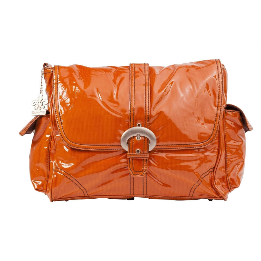 Orange Corduroy Laminated Buckle Diaper Bag | Style 2960 - Kalencom-Diaper Bags-Default-Jack and Jill Boutique