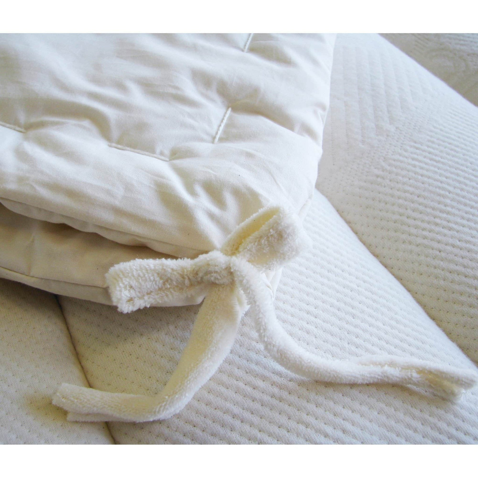 Organic All Season Wool Comforters (Separate 2 Layers) | Holy Lamb Organics-Comforters-Jack and Jill Boutique