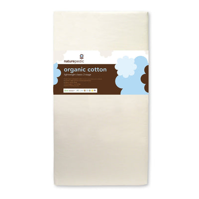 Organic Cotton Lightweight Classic 2-Stage-Crib Mattress-Default-Jack and Jill Boutique