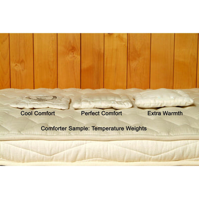 Organic Dual-Zone (Warm/Cool) Wool Comforters | Holy Lamb Organics-Comforters-Jack and Jill Boutique