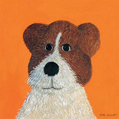 Oscar Mutt | Canvas Wall Art-Canvas Wall Art-Jack and Jill Boutique