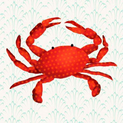 Otto the Crab | Canvas Wall Art-Canvas Wall Art-Jack and Jill Boutique