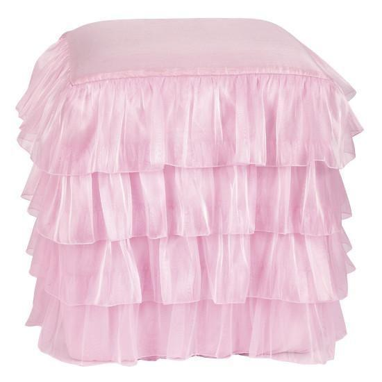 Ottoman: Ruffled Skirt - Pink-Ottoman Skirt-Default-Jack and Jill Boutique