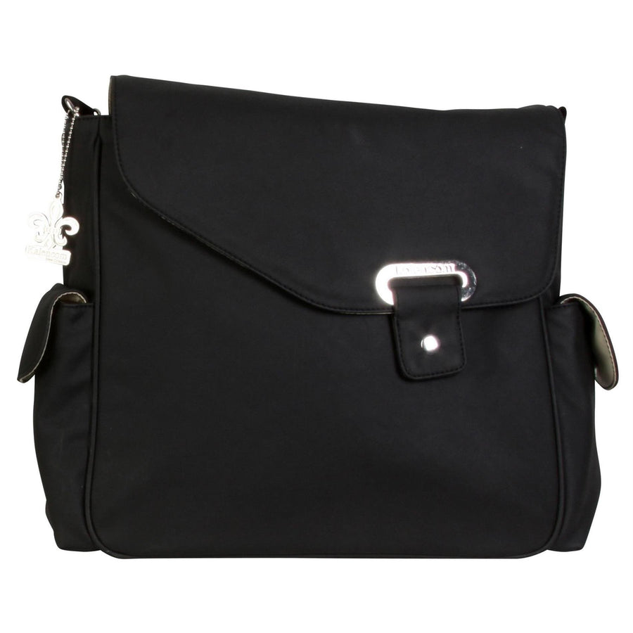 Ozz Vegan - Black Diaper Bag | Style 2970 - Kalencom