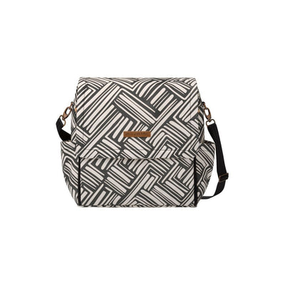 Boxy Backpack Diaper Bags | Petunia Pickle Bottom-Diaper Bags-BOXY BACKPACK IN BRUSHES-Jack and Jill Boutique