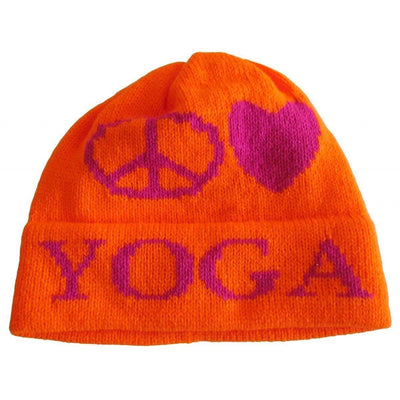 Peace Love Personalized Knit Hat-Hats-Jack and Jill Boutique