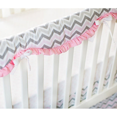 Peace, Love & Pink Baby Bedding Set-Crib Bedding Set-Default-Jack and Jill Boutique
