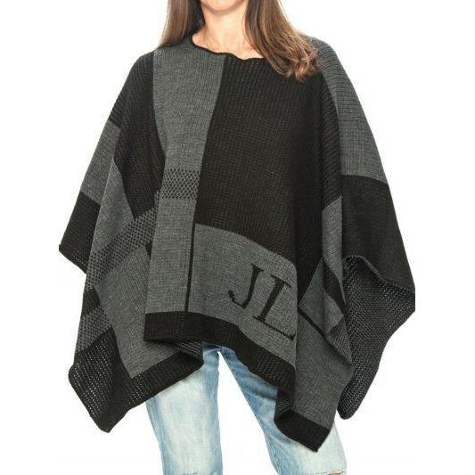 Personalized Check Blanket Personalized Poncho-Poncho-Jack and Jill Boutique