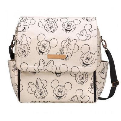 Boxy Backpack Diaper Bags | Petunia Pickle Bottom-Diaper Bags-Sketchbook Mickey & Minnie-Jack and Jill Boutique